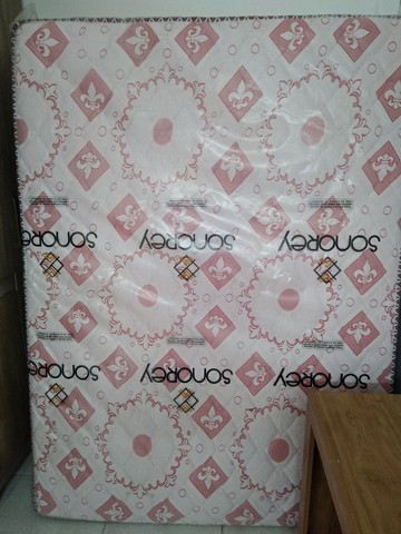 Colchão sonorey e de brinde uma multifuncional 700 reias 10x no cartão sem juros ou pix - Foto 4