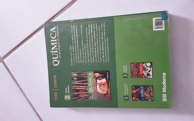 Livros de química, física e biologia - Foto 2