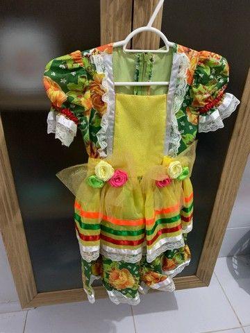 Vestido de São João infantil  - Foto 2