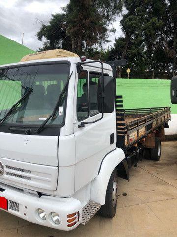 Caminhão 3/4 712 C 2002 carroceria toco 4x2 - Foto 2
