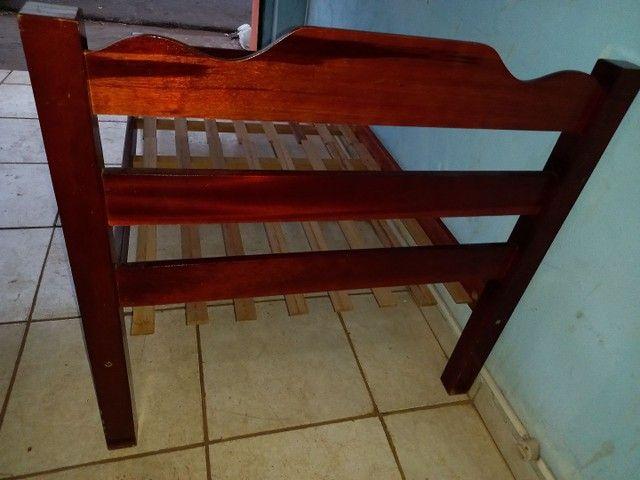 Cama solteiro madeira maciça  - Foto 4