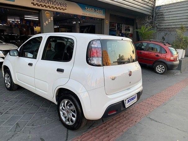 Fiat Uno Attractive 1.0 Flex 2020/2020 Branco Cód. 2055 - Foto 8