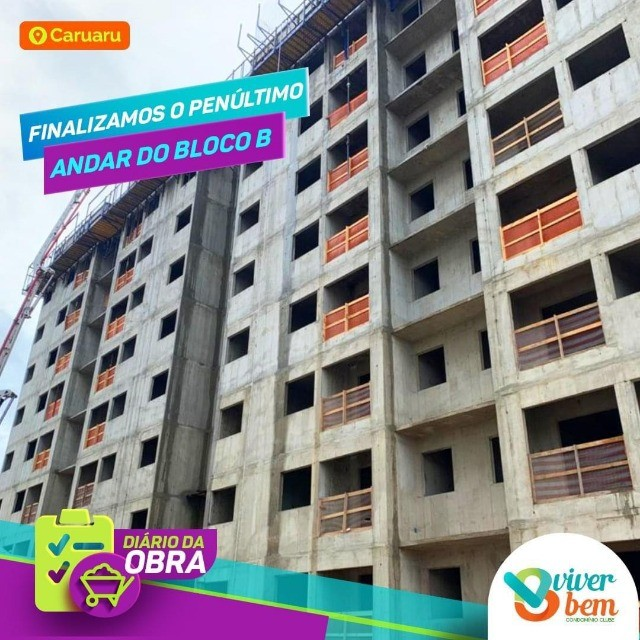 Apartamento no  condomínio clube Viver Bem, o mais completo de Caruaru - Foto 8