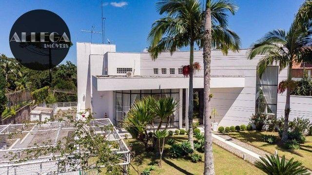 Casa com 5 quartos, 4 suítes, 2 piscinas privativas, à venda, 750 m² por R$ 4.400.000 - Ca - Foto 3