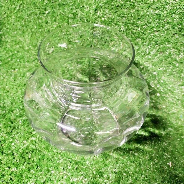 Antigo vaso de vidro Decoração  - Foto 2