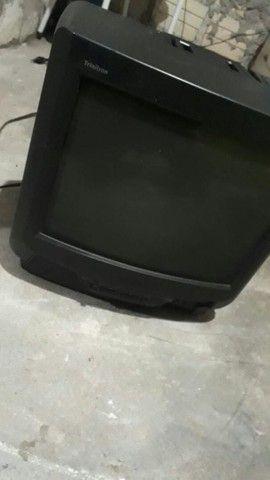 TV 14 polegadas pegando - Foto 2