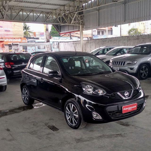 Nissan March 1.6 Sl CVT 2018/18 - Foto 8