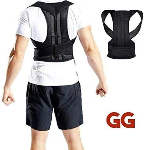 Corretor de postura para aliviar dores nas costas - Foto 2