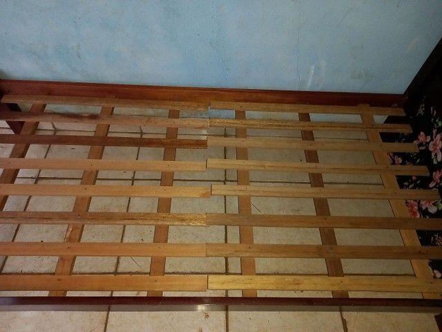 Cama solteiro madeira maciça  - Foto 5