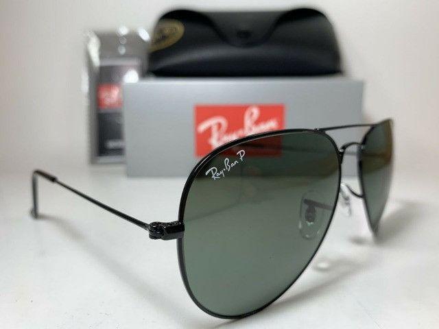 Óculos de Sol Aviador Proteção UV400 Promoção - Foto 3