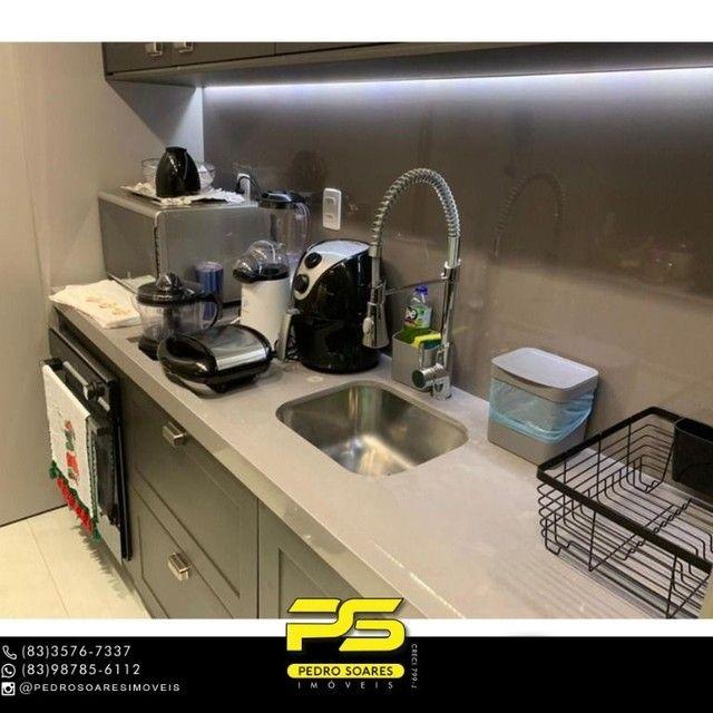 ** PROJETADOS ** Apartamento à venda, 70 m² por R$ 650.000 - Altiplano - João Pessoa/PB - Foto 4