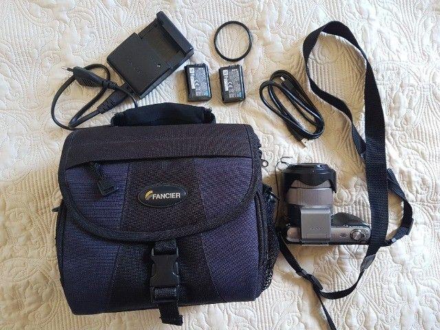 Câmera Fotográfica Mirrorless Sony Nex-c3 16.2 Mp Hd - Foto 3