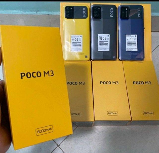 Poco M3 128GB Lacrado em até 12x no cartão  - Foto 2