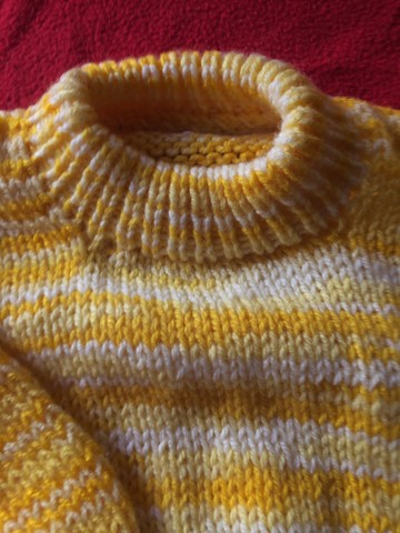 Blusão de lã bem grosso ! Novo 50  - Foto 4