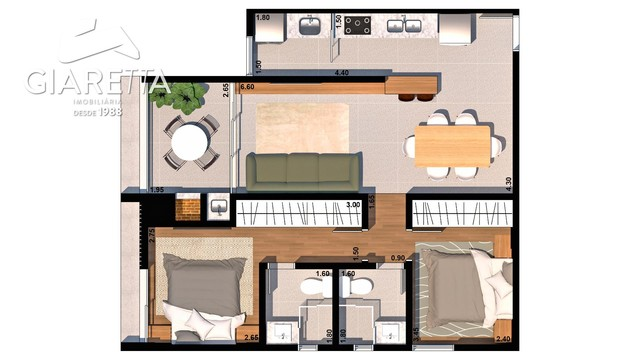 Apartamento à venda, VILA INDUSTRIAL, TOLEDO - PR - Foto 8