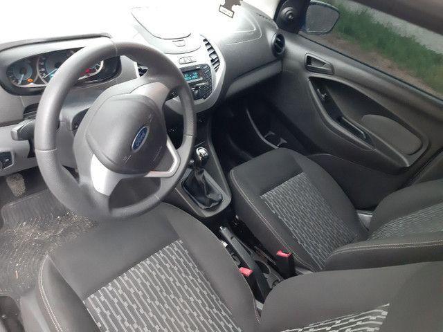 Ford KA SE 4 portas completo Flex com gnv ano 2018 - Foto 12