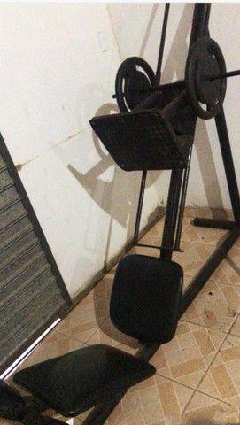 Máquinas de Academia de Musculação