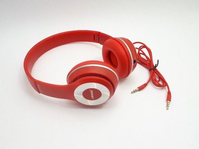 Fone De Ouvido Headphone Para Celular Smartphone P2 Aux Com Fio - Foto 2