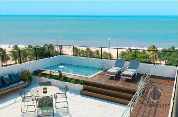 Flat com 1 dormitório à venda, 19 m² por R$ 176.990 - Cabo Branco - João Pessoa/PB - Foto 3