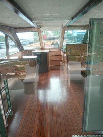 Alugo Lancha cabinada Completa diária e pernoites  - Foto 9