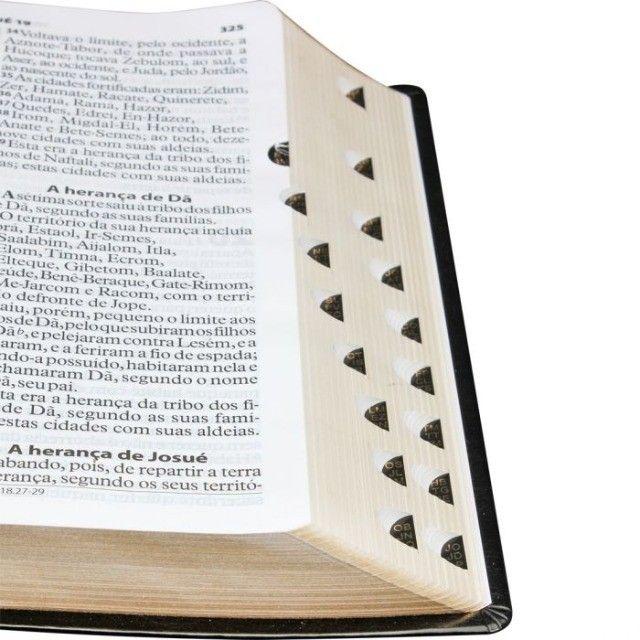 Bíblia de Púlpito Edição de Luxo com letras extragigantes e vermelhas  - Foto 2