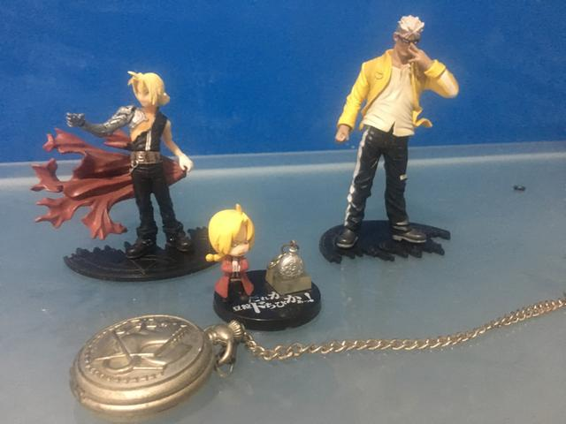 Miniaturas Full metal alchemist