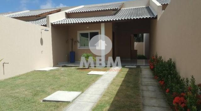 Casa no Eusébio com 80 m², 2 suítes e 2 vagas de garagem