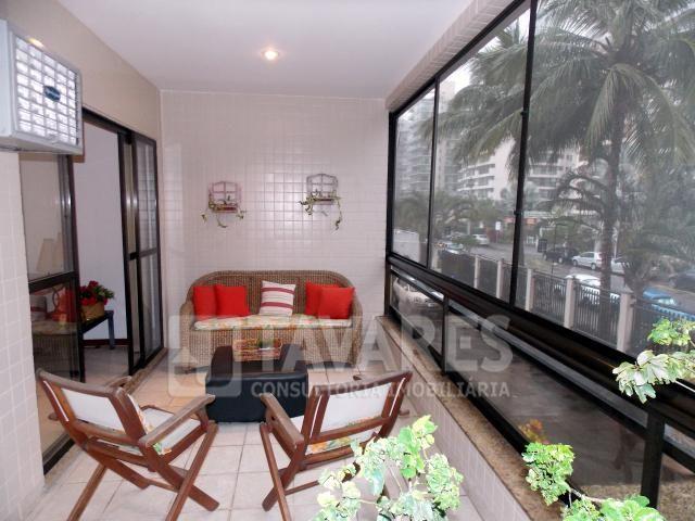 Apartamento à venda com 3 dormitórios em Barra da tijuca, Rio de janeiro cod:40946 - Foto 8