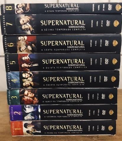 DVD Sobrenatural/Supernatural