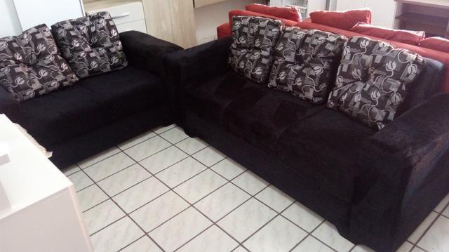 Sofa Com Almofadas Direto De Fabrica 749.00