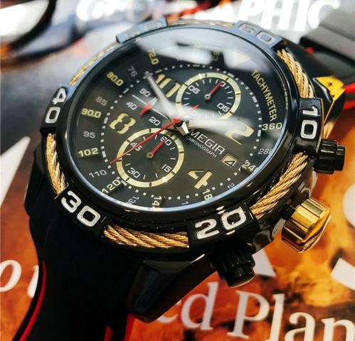 Relógio Original Multifuncional MEGIR - Foto 6