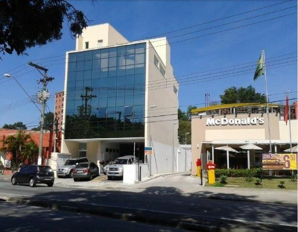 Salão e Salas Comerciais no Bairro Demarchi - Prédio com Elevador