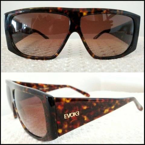 b18d1a93a561d Óculos Sol Evoke Original Novo na caixa Case + Flanela + nota fiscal  Raridade