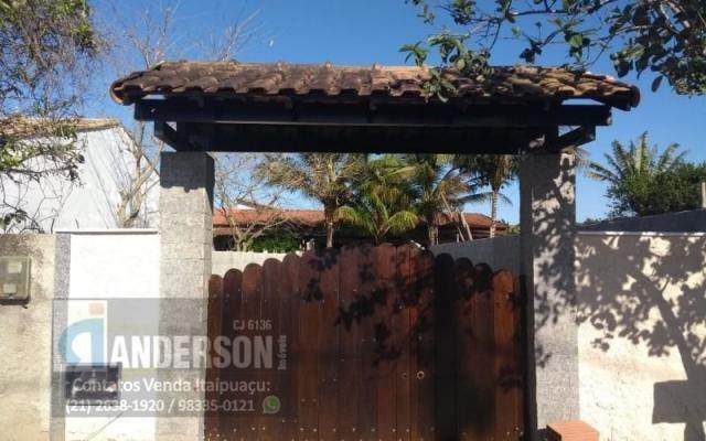 Casa em Itaipuaçu próximo asfalto e praia - Foto 9