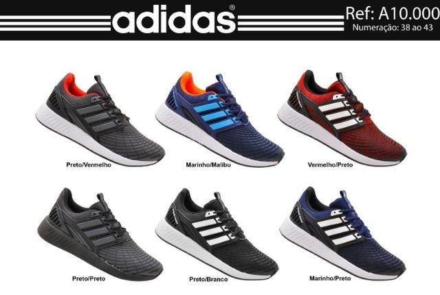 7dbb8b655ae Tênis Adidas Energy Boost Masculino - Direto de Fabrica - Roupas e ...