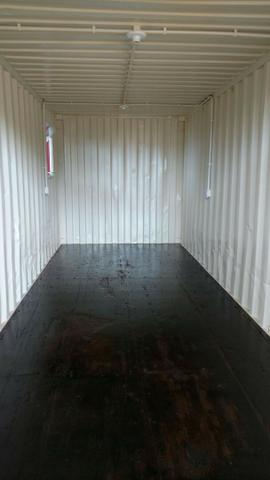 Dry miolo 6m Sala comercial Container