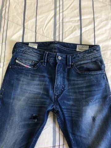 Calça jeans masculina Diesel original n38 - Foto 2