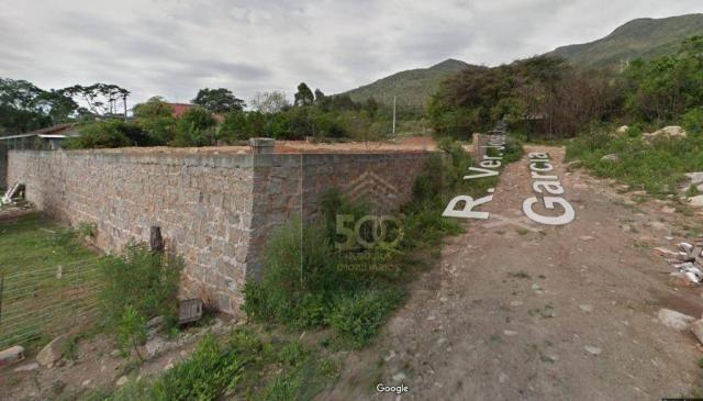 Te0005 - terreno à venda, 364 m² por r$ 170.000 - praia de fora - palhoça/sc
