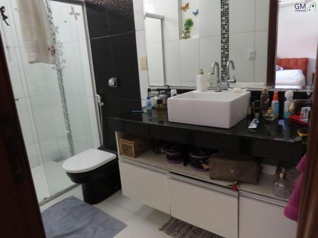 Vendo casa no setor de mansões, 3 quartos / suíte / piscina / churrasqueira / próximo a ca - Foto 12