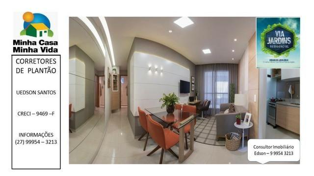 UED-94 - Apartamento 2 quartos com lazer completo em morada de laranjeiras - Foto 11