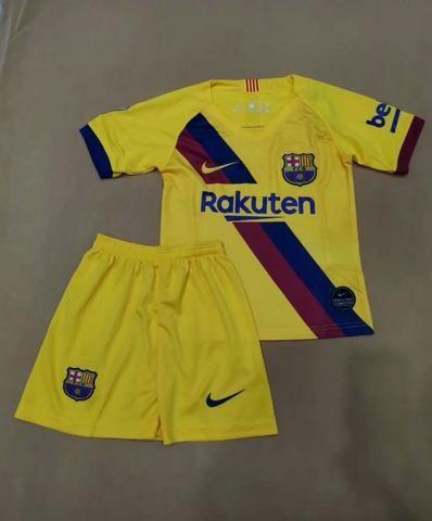 Kit Infantil Barcelona Away 2019/2020 - Foto 2