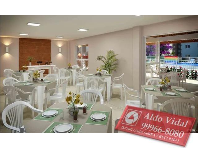 ARV109- Apartamento 2 Q + 1 Múltiplo Uso no Vista do Horizonte, J.Limoeiro , Serra E.S - Foto 5