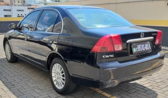 Honda Civic LX 1.7 Completo 2001/2001 R$11.800,00 Parcelo no Cartão de Credito - Foto 5