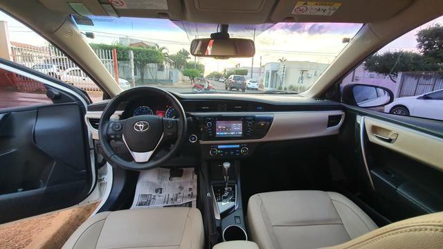 Corolla alts top d linha ano 14/15 automático Flex - Foto 11