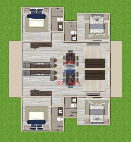 Apartamento com 2 dormitórios à venda, 65 m² por r$ 165.000,00 - cambolo - porto seguro/ba - Foto 12