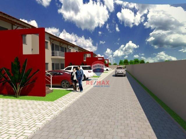 Apartamento com 2 dormitórios à venda, 65 m² por r$ 165.000,00 - cambolo - porto seguro/ba - Foto 2