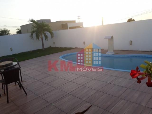 Aluga-se casa alto padrão com piscina no Ninho residencial - KM IMÓVEIS - Foto 8