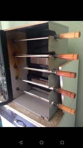 Churrasqueira á gás giratória Arke com balcão multiuso - Foto 4