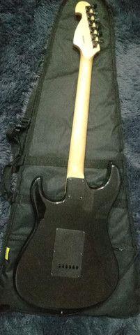 Guitarra Stratocaster Memphis Preta - Foto 4