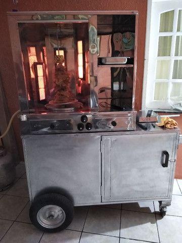 Máquina de churrasco grego R$ 1.500,00 - Foto 2
